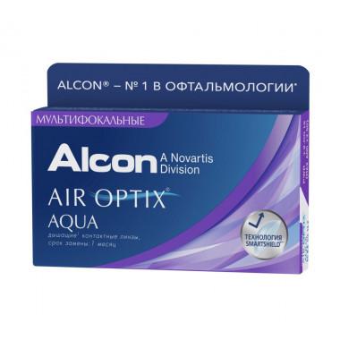 Контактные линзы Air Optix Multifocal 3 шт от Alcon купить, отзывы