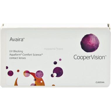 Контактные линзы Avaira 6 шт от Cooper Vision купить, отзывы