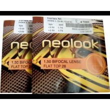 Линзы для очков Бифокальные 1.50 Neolook Без/Покр