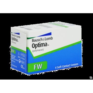 Контактные линзы Optima FW 4 шт от Bausch-Lomb купить, отзывы