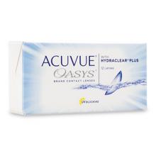 Контактные линзы Acuvue Oasys 12 шт