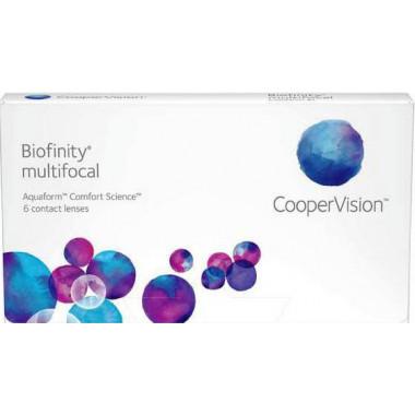 Контактные линзы Biofinity Multifocal 3 шт от Cooper Vision купить, отзывы