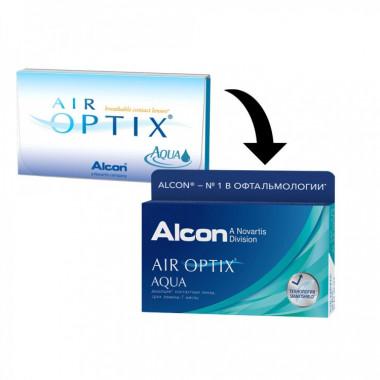 Контактные линзы Air Optix Aqua 6 шт от Alcon купить, отзывы
