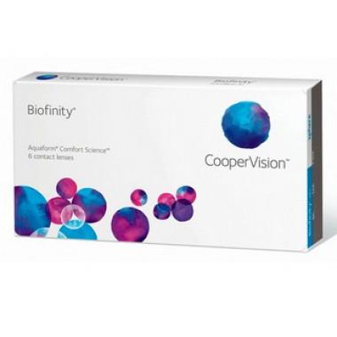 Контактные линзы Biofinity 6 шт от Cooper Vision купить, отзывы