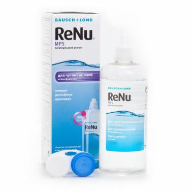 Раствор для линз Renu Mps 360 мл от Bausch-Lomb купить, отзывы