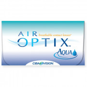 Контактные линзы Air Optix Aqua 3 шт