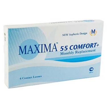 Контактные линзы Maxima 55 Comfort 6 шт от Maxima Optics купить, отзывы