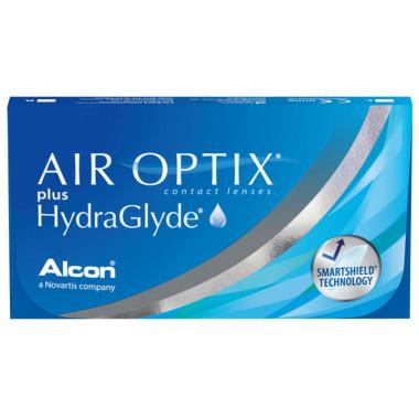 Контактные линзы Air Optix Hydraglyde 3 шт от Alcon купить, отзывы