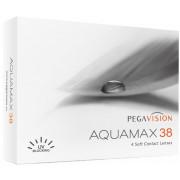 Контактные линзы Aquamax 38 4 шт