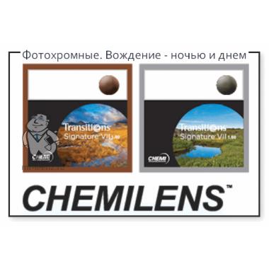 Линзы для очков Фотохром Neolook 1.60 Sp Signature Vii Shmc (Brown/Grey) от Chemi Glass  купить, отзывы