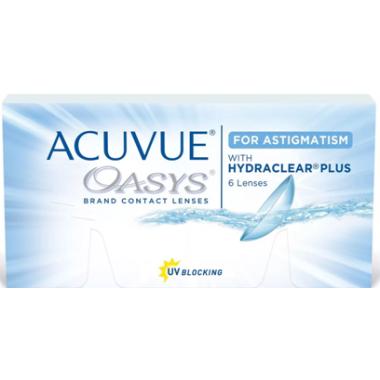 Контактные линзы Acuvue Oasys For Astigmatism 6 шт от Johnson-Johnson купить, отзывы
