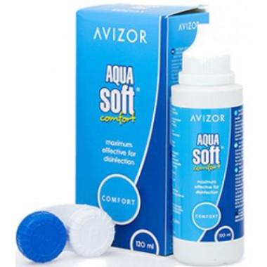 Раствор для линз Aquasoft 120 мл от Cooper Vision купить, отзывы