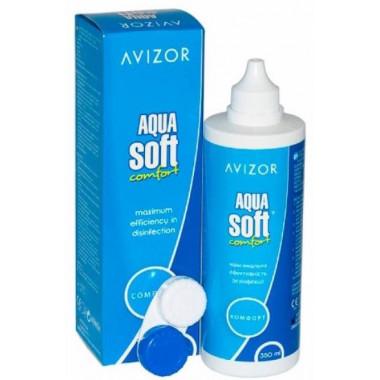 Раствор для линз Aquasoft 350 мл от Cooper Vision купить, отзывы