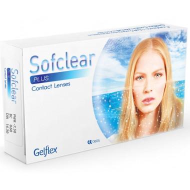 Контактные линзы Sofсlear Plus 3 шт от Gelflex купить, отзывы