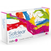 Контактные линзы Sofclear Colours 2 шт