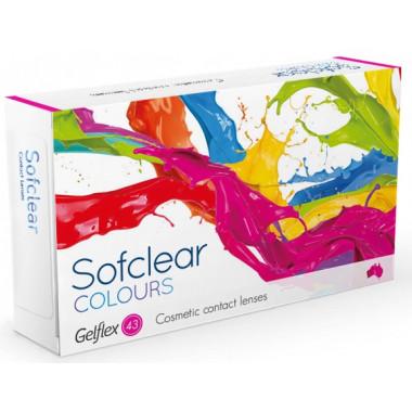 Контактные линзы Sofclear Colours 2 шт от Gelflex купить, отзывы
